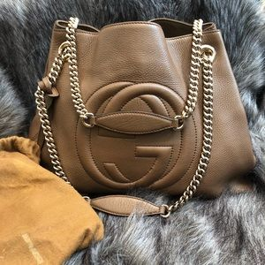 Gucci soho shoulder bag authentic